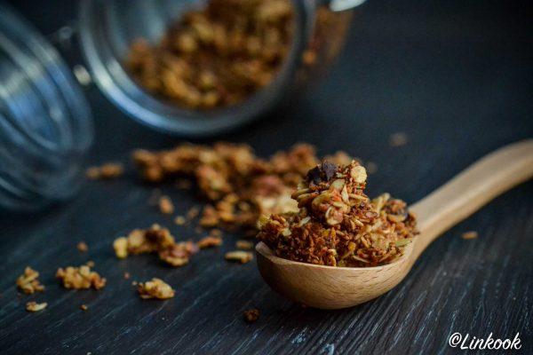 Granola maison maxi plaisir | ©Yood (Good food good mood for you)