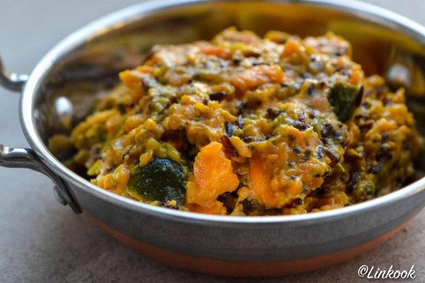 Curry crémeux aubergine & patates douces | ©Yood (Good food good mood for you)