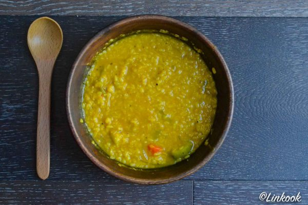 Dhal ayurvédique tridoshique | ©Yood (Good food good mood for you)