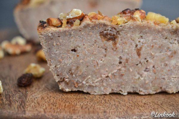 Banana bread vegan & sans gluten aux noix & raisins secs | ©Yood (Good food good mood for you)