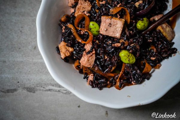 Riz noir aux saveurs asiatiques | ©Yood (Good food good mood for you)