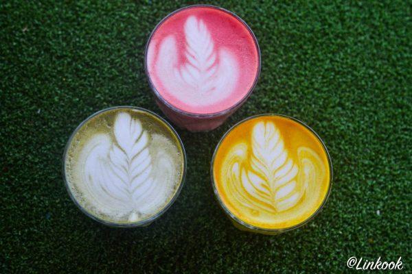 Beetroot Latte | ©Yood (Good food good mood for you)