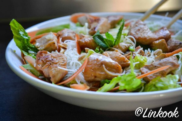 Bo bun de poulet healthy | ©Yood (Good food good mood for you)