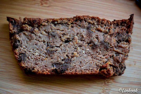 Cake aux châtaignes, noisettes & pépites de chocolat | ©Yood (Good food good mood for you)