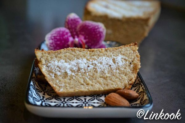 Coconut bread vegan | ©Yood (Good food good mood for you)