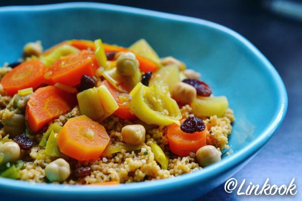 Couscous végétarien au chanvre | ©Yood (Good food good mood for you)