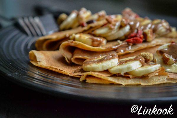 Crêpes légères et moelleuses sans lactose | ©Yood (Good food good mood for you)