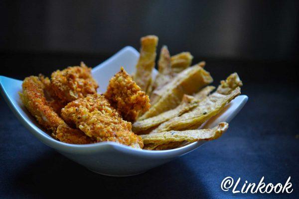 Croustillants de poulet au four façon nuggets | ©Yood (Good food good mood for you)