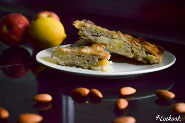 Délice aux pommes, amandes & citron | ©Yood (Good food good mood for you)