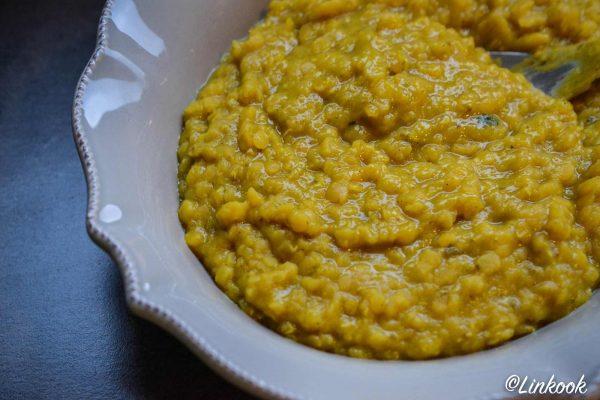 Dahl de lentilles corail, curry & lait de coco | ©Yood (Good food good mood for you)