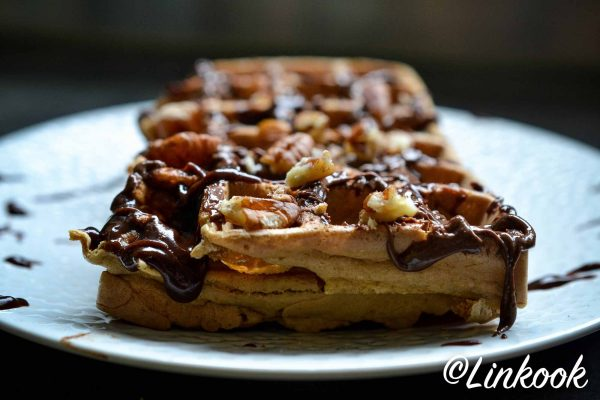 Gaufres vegan à la vanille | ©Yood (Good food good mood for you)