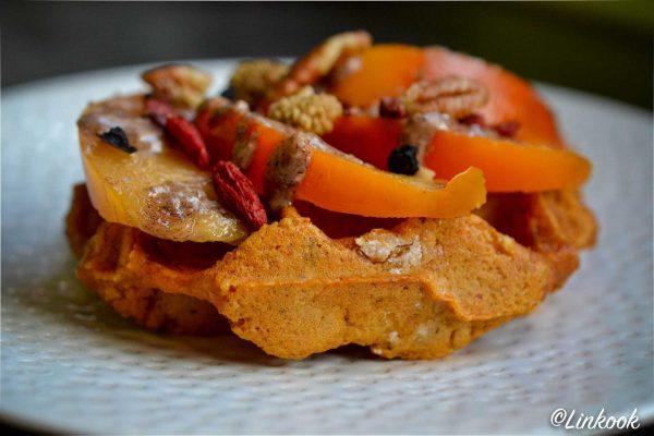 Gaufre de patate douce healthy & gourmande | ©Yood (Good food good mood for you)