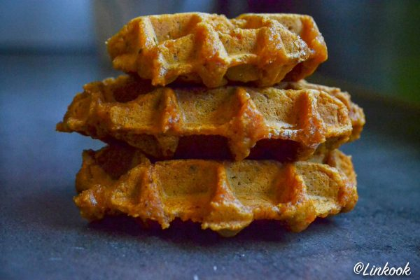 Gaufre de patate douce healthy & gourmande | ©Yood (Good food good mood for you)