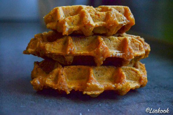 Gaufre de patate douce healthy & gourmande   ©Yood (Good food good mood for you)