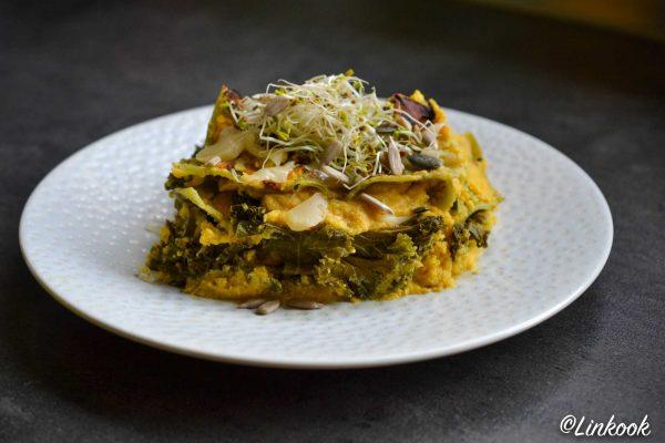 Lasagnes légères de courge & kale | ©Yood (Good food good mood for you)