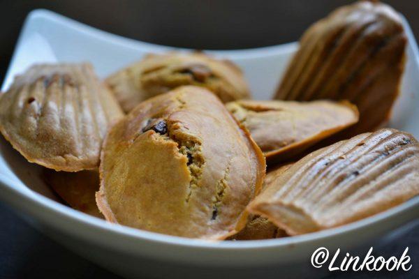 Madeleines vegan aux pépites de chocolat | ©Yood (Good food good mood for you)