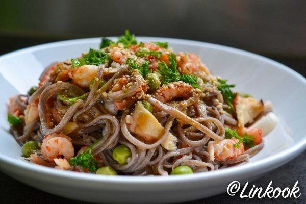 Nouilles Soba aux écrevisses | ©Yood (Good food good mood for you)