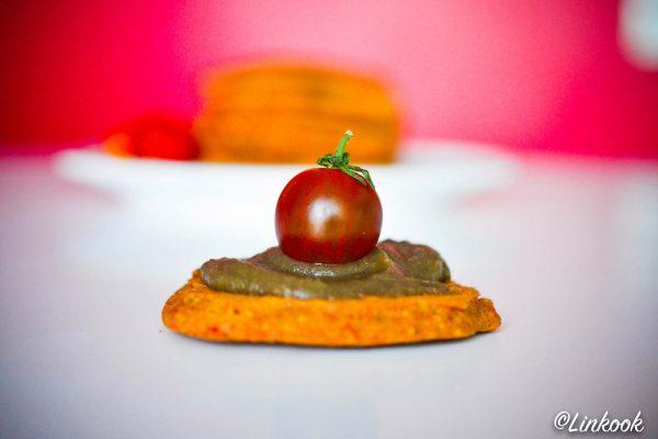 Pancakes salés poivron & courgette | ©Yood (Good food good mood for you)