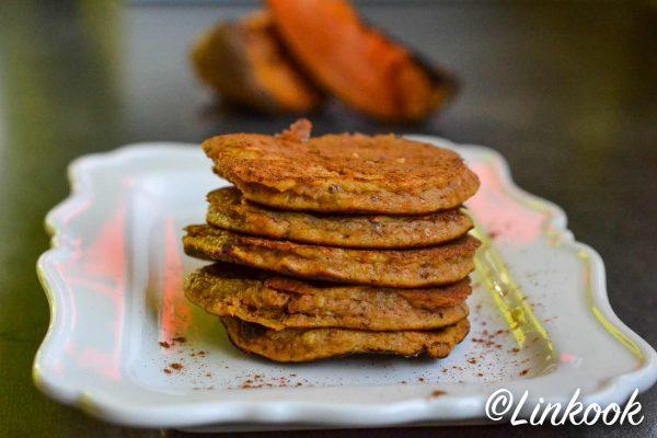 Pancakes tout doux à la patate douce | ©Yood (Good food good mood for you)