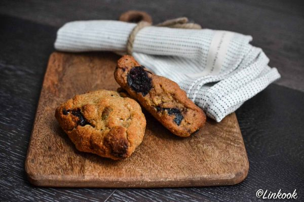 Scones aux myrtilles vegan & sans gluten | ©Yood (Good food good mood for you)