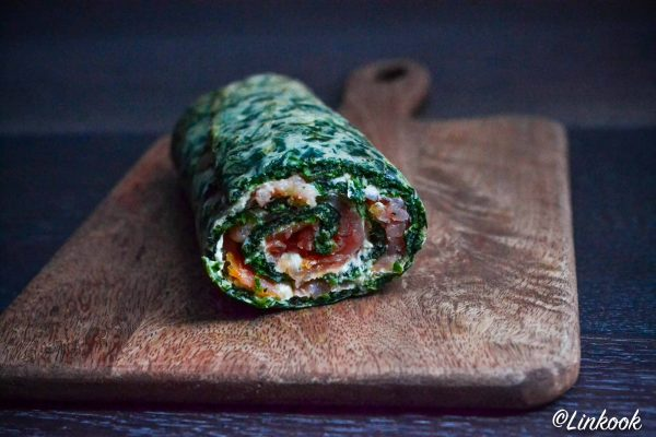 Spinach roll | ©Yood (Good food good mood for you)
