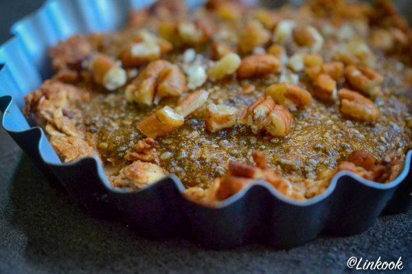 Tartelette végétale au kaki | ©Yood (Good food good mood for you)