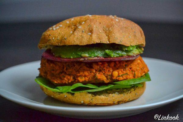 Veggie burger façon Yood | ©Yood (Good food good mood for you)