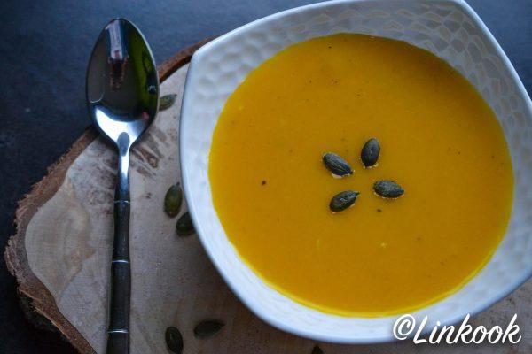 Velouté minceur de potimarron au lait de coco | ©Yood (Good food good mood for you)