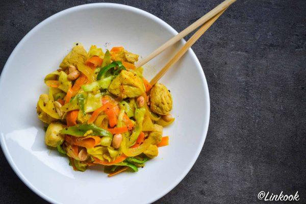Wok de poulet minceur aux légumes | ©Yood (Good food good mood for you)